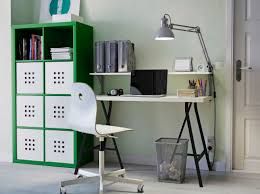 ikea home office furniture a home office with green kallax storage linnmon table in black and bedroommesmerizing office furniture ikea