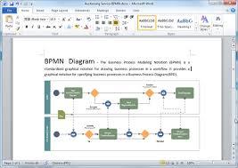 bpmn diagram templates for wordword bpmn diagram template