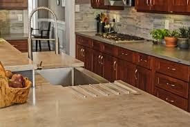 dishy kitchen counter decorating ideas: fabulous concrete countertops decorating ideas for kitchen design ideas with fabulous none