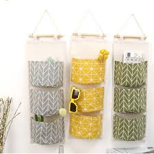 SHUJIN <b>Multilayer 3 Pockets</b> Sundries <b>Hanging</b> Organizer Bedroom ...