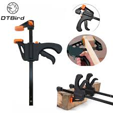 """4"""" Inch F Woodworking Clamp Clamping Device <b>Adjustable DIY</b> ..."""