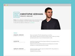 christophe hermann   tags   cv   dribbblemy resume