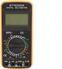 Купить <b>Мультиметр</b> ТЕК <b>DT</b> 9205A по выгодной цене в интернет ...