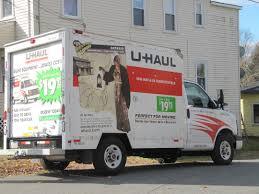 Uhaul Truck S Seen From The Sidewalk U Hauling History National Council On