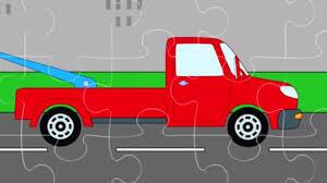 Мультфильм для <b>детей</b> - <b>Пазл</b> с машинками (Эвакуаторы ...