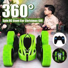 1/28 <b>RC Stunt Car</b> High Speed Tumbling Crawler Vehicle 360 ...