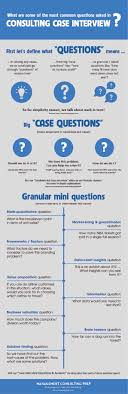 what are a number of the foremost common questions asked in case interview questions