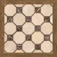 «<b>Керамическая плитка Cristacer Castell</b> Marron 45x45 ...