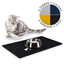 EVERANIMALS <b>Silicone</b> and Waterproof <b>Pet Food</b> Mat for <b>Dog</b> and ...