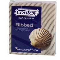 <b>Презервативы Contex Ribbed ребристые</b> купить с доставкой по ...