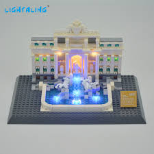 <b>Lightaling LED Light</b> Kit For Trevi Fountain Compatible With Brand ...