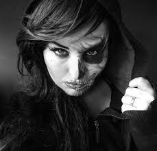easy yolandi by iskesib on deviantart grim reaper makeup