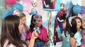 <b>Frozen Birthday Party</b> Ideas - YouTube