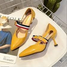 <b>HKJL</b> 2020 <b>new summer</b> in Europe pointed shoes merchandiser ...