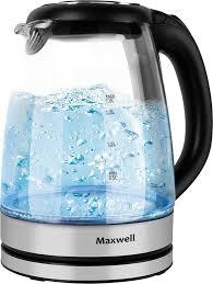 Купить <b>электрический чайник Maxwell MW</b>-1089, прозрачный в ...