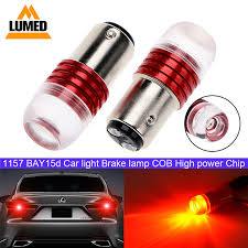 <b>10x 1157 BAY15D</b> P21 / 5W Strobe Flash Led flashing light Auto ...