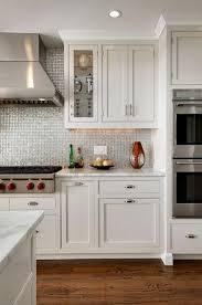 kitchen backsplash stainless steel tiles: silver irdidescent kitchen backsplash view full size