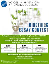 summer essay contest winners voices in bioethics