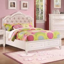 cindy deluxe white 4 piece platform bedroom set bed room sets kids