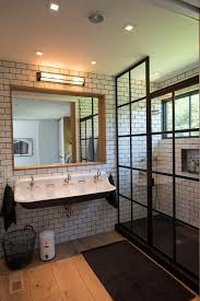 sagging tin ceiling tiles bathroom: sag harbor boat house desire to inspire desiretoinspirenet kevin o middot wood tile bathroom