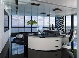 black and white office room idea black and white office design