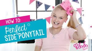 How To Create The Perfect <b>JoJo</b> Siwa Side Ponytail | Hair Tutorial ...