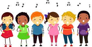 Resultado de imagen de niños cantando