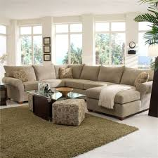 beige sectional with chaise ideas for bright color modern living room with shaggy rug beige sectional living room