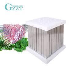 <b>GZZT</b> 64 Holes BBQ Skewers Kebab Maker Box Barbecue Tool Sets ...
