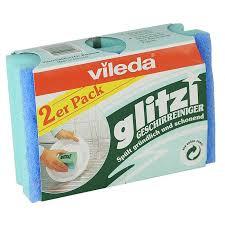 Купить губку <b>Vileda</b> для посуды Глитци, 2 шт в интернет магазине ...