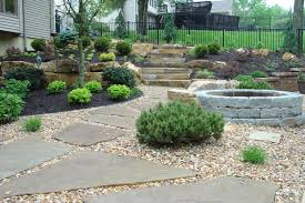 landscapes natural stone patio designs