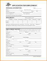 14 job application for bell ledger paper taco bell job application form