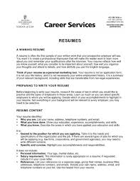 resume template objectives for resumes for high school students