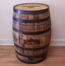jack daniels barrel super cook whiskey gifts authentic jim beam whiskey barrel table