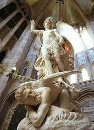 Image result for saint michael and the devil