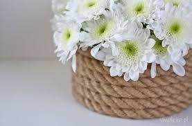 Znalezione obrazy dla zapytania wazon ze sznurka