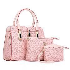 <b>Fashion Women Shoulder Bag</b> PU Leather Tote Handbag ...