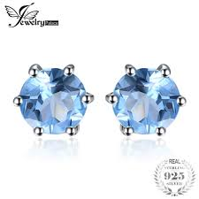 Aliexpress.com : Buy <b>JewelryPalace Round 1.2ct Natural</b> Blue ...