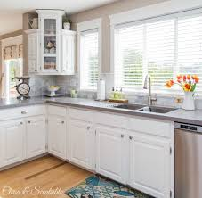 beautiful white kitchen cabinets: beautiful white kitchen from clean and scentsible