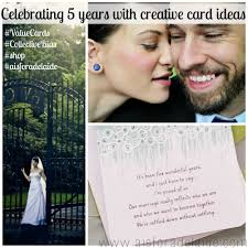 celebrating years my creative card ideas a is for celebrating 5 years creative crd ideas valuecards shop weddinganniversary