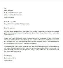 Interview Rejection Letter - 6 Free Doc Download Iinterview Rejection Letter Response