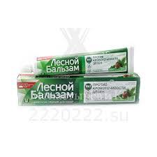 Купить <b>Зубная паста Лесной бальзам</b> Кора дуба/пихта/отвар ...