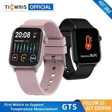 <b>TICWRIS</b> GTS Smart Watch With Body Temperature Waterproof ...