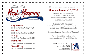 meals meaning saint ambrose catholic parish meals meaning coupon
