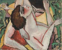 max weber burlesque th century paintings lot 6