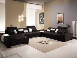 awesome black sofas decorating living room ideas black leather sectional sleeper square beige area rugs white awesome black painted