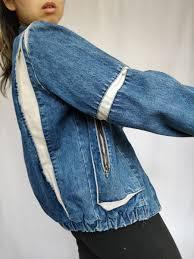 The Denim Dream | <b>Vintage Denim Bomber</b> Jacket – The Vintage ...