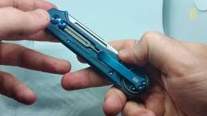 нож складной we knife цвет фиолетовый длина клинка 81 мм