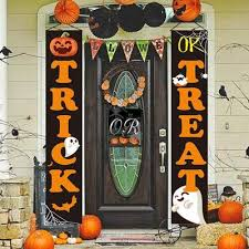 <b>Halloween</b> Decoration Trick Or Treat <b>Banner</b> Horror <b>Halloween</b> ...