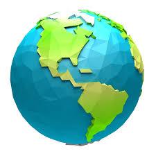 Image result for globe cartoon